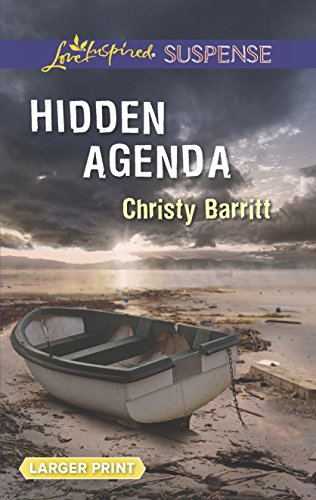 Hidden Agenda (Love Inspired Large Print Suspense): Christy Barritt