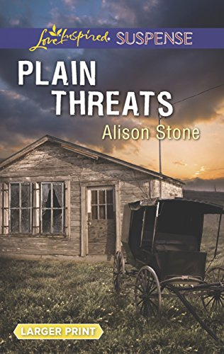 9780373677030: Plain Threats (Love Inspired Suspense (Large Print))