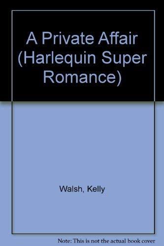 9780373703609: Private Affair (Harlequin Superromance No. 360)