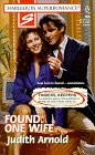Found : One Wife (Finders, Keepers) (Harlequin: Arnold, Judith
