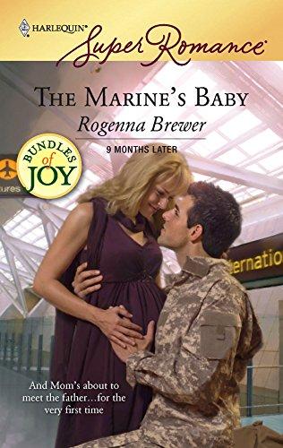 9780373714780: The Marine's Baby (Harlequin Superromance, No. 1478 / 9 Months Later / Bundles of Joy)
