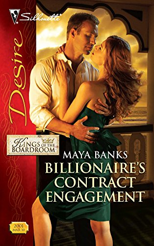 9780373730148: Billionaire's Contract Engagement (Silhouette Desire)