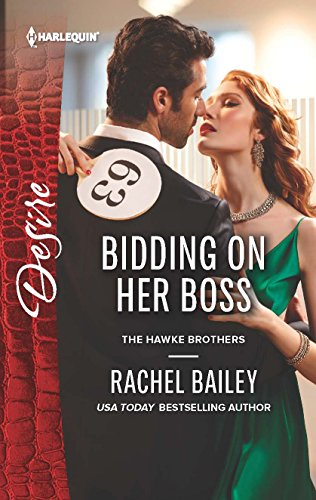 9780373734122: Bidding on Her Boss (Hawke Brothers)