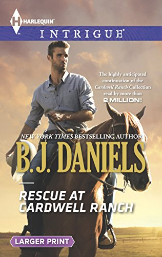 9780373748181: Rescue at Cardwell Ranch (Harlequin LP Intrigue\Cardwell Cousins)