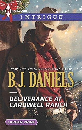 9780373748549: Deliverance at Cardwell Ranch (Harlequin Intrigue (Larger Print))