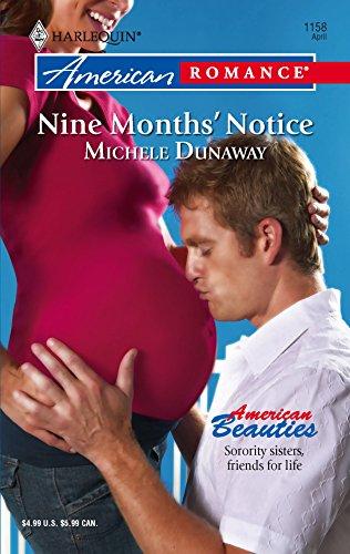 9780373751624: Nine Months' Notice