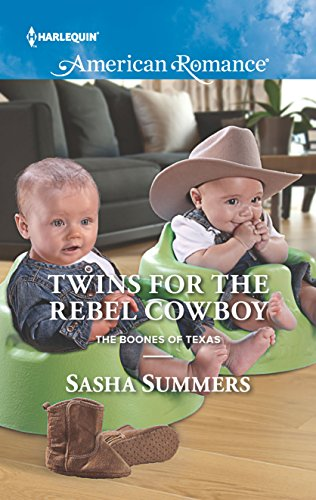 9780373756049: Twins for the Rebel Cowboy (The Boones of Texas)