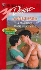 9780373760787: Marriage Made In Joeville (Montana Malones) (Silhouette Desire, No 1078)