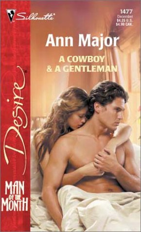9780373764778: A Cowboy & A Gentleman (Man of the Month)