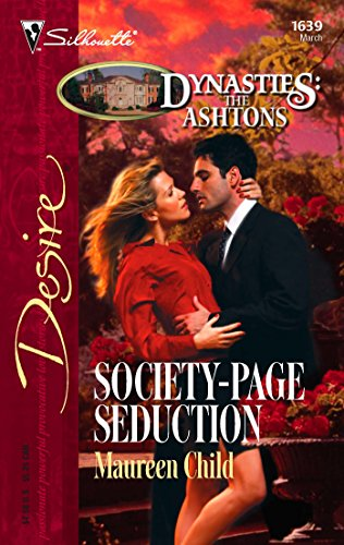9780373766390: Society-Page Seduction (Silhouette Desire)