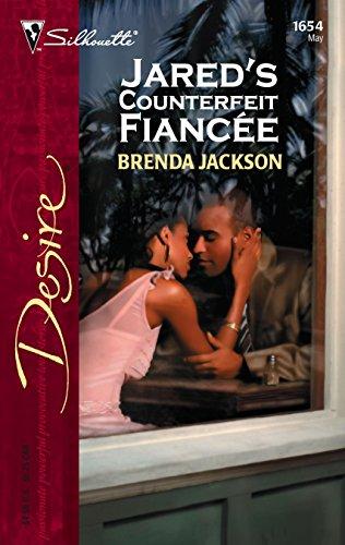 9780373766543: Jared's Counterfeit Fiancee (Silhouette Desire)