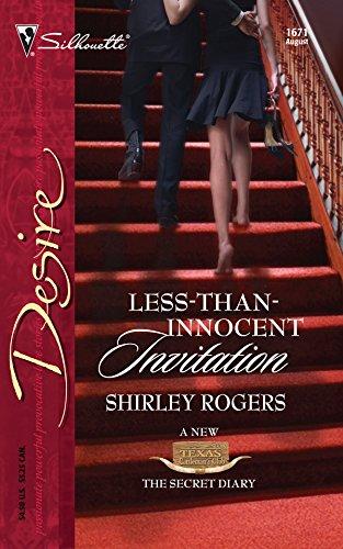 9780373766710: Less-Than-Innocent Invitation (Harlequin Desire)