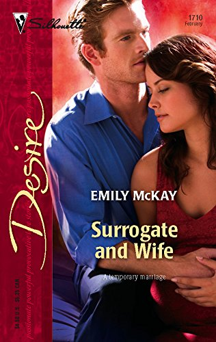 9780373767106: Surrogate And Wife (Harlequin Desire)