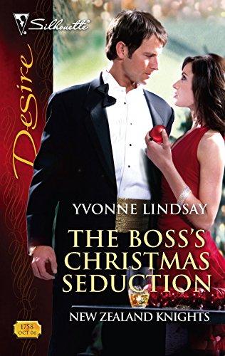 9780373767588: The Boss's Christmas Seduction (Harlequin Desire)