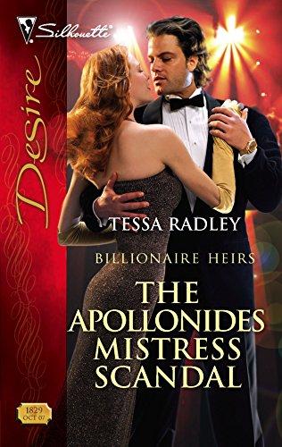 9780373768295: The Apollonides Mistress Scandal (Silhouette Desire)