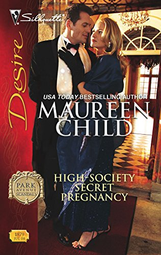 9780373768790: High-Society Secret Pregnancy (Park Avenue Scandals)