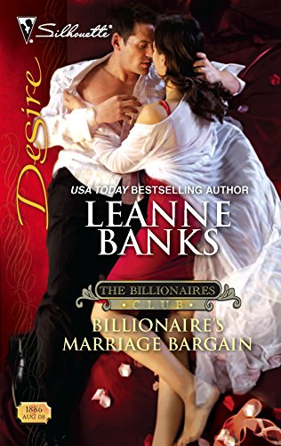 9780373768868: Billionaire's Marriage Bargain (Silhouette Desire)