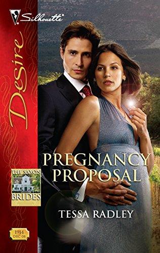 9780373769148: Pregnancy Proposal (The Saxon Brides)