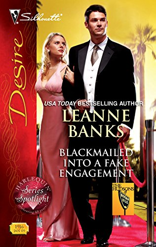 9780373769162: Blackmailed Into A Fake Engagement (Silhouette Desire)