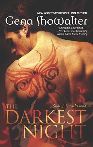 9780373775224: The Darkest Night (Lords of the Underworld)