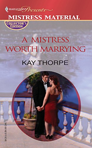 9780373806232: A Mistress Worth Marrying (Promotional Presents)