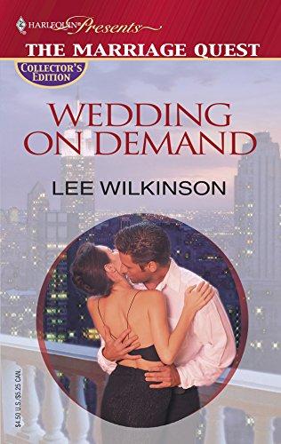 9780373806287: Wedding On Demand