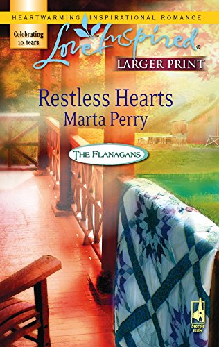 Restless Hearts (The Flanagans, Book 6) (Larger: Perry, Marta