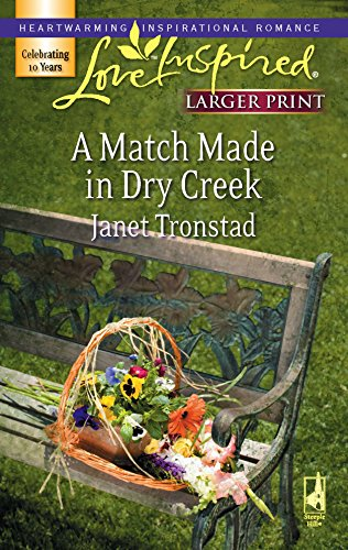 9780373813056: A Match Made in Dry Creek (Dry Creek Series #10) (Larger Print Love Inspired #391)