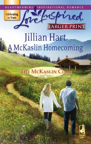 9780373813179: A McKaslin Homecoming (The McKaslin Clan: Series 3, Book 5) (Larger Print Love Inspired #403)