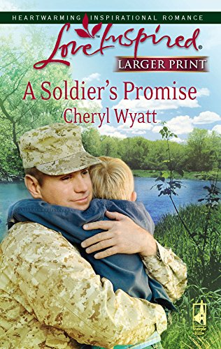 9780373813445: A Soldier's Promise (Wings of Refuge, Book 1) (Larger Print Love Inspired #430)