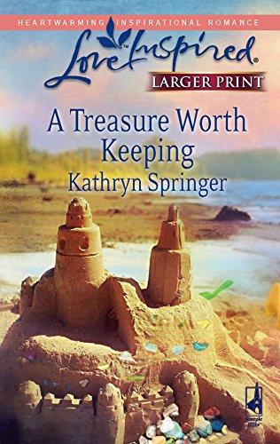 9780373813506: A Treasure Worth Keeping: McBride Sisters' Series #1 (Larger Print Love Inspired #436)
