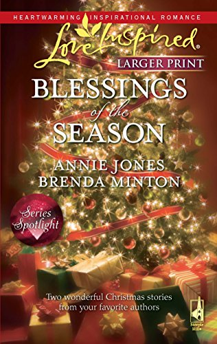 9780373814404: Blessings of the Season: The Holiday Husband\The Christmas Letter (Love Inspired Larger Print)