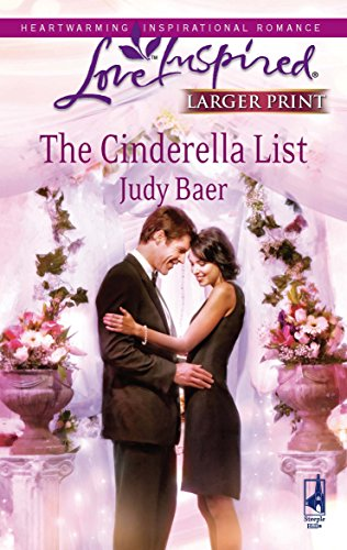 9780373814725: The Cinderella List (Love Inspired Larger Print)