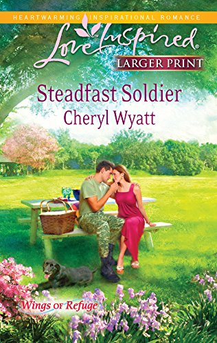 9780373814831: Steadfast Soldier (Love Inspired Larger Print)