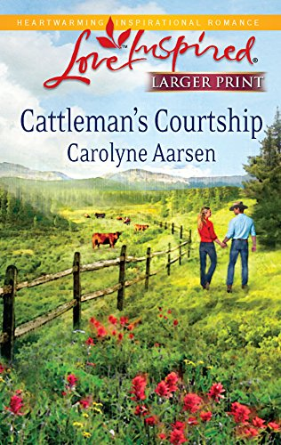 9780373814886: Cattleman's Courtship (Love Inspired Large Print)