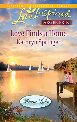 9780373815005: Love Finds a Home (Love Inspired Large Print)