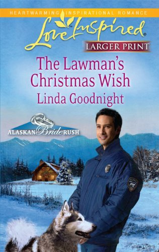 9780373815166: The Lawman's Christmas Wish (Love Inspired Larger Print)