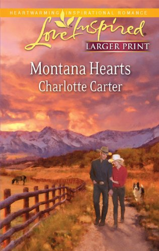 9780373815203: Montana Hearts (Larger Print Steeple Hill Love Inspired)