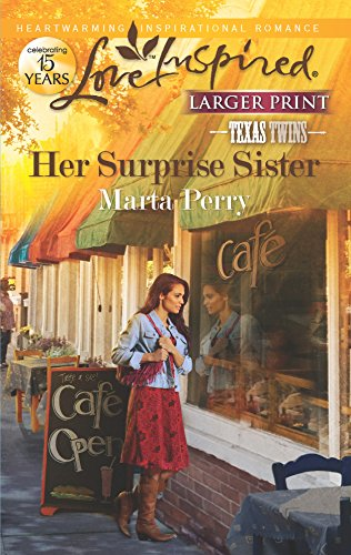 Her Surprise Sister (Love Inspired Larger Print): Perry, Marta
