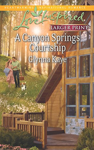 9780373817184: A Canyon Springs Courtship (Love Inspired LP)