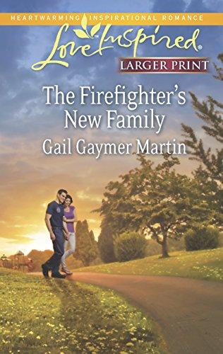9780373817412: The Firefighter's New Family (Love Inspired LP)