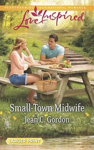 Small-Town Midwife (Love Inspired LP): Gordon, Jean C.