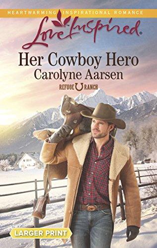 9780373818105: Her Cowboy Hero (Love Inspired (Large Print))