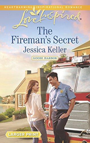9780373818198: The Fireman's Secret (Goose Harbor)