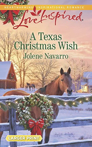 9780373818686: A Texas Christmas Wish (Love Inspired Large Print)