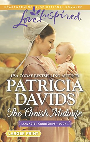 9780373818716: The Amish Midwife (Lancaster Courtships)