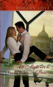9780373820863: All Night with the Boss (Modern Love)