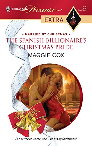 9780373823765: The Spanish Billionaire's Christmas Bride