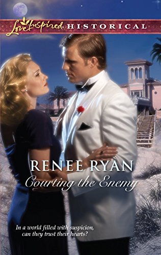 9780373828838: Courting the Enemy (Love Inspired Historical)