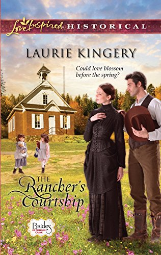 9780373828920: The Rancher's Courtship (Love Inspired Historical)